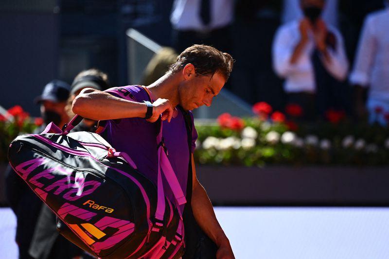 Rafael Nadal quedó eliminado del Masters 1000 de Madrid tras caer en dos sets contra Alexander Zverev.