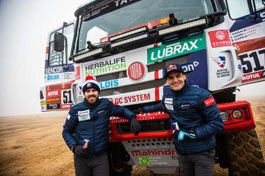 Ignacio Casale deja las quads y se sube a un camión para correr el Dakar