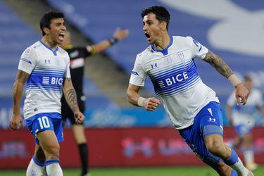 Fernando Zampedri fue el héroe de la UC ante Cobresal y tiene una gran lucha con Diego Valencia por ser el goleador.