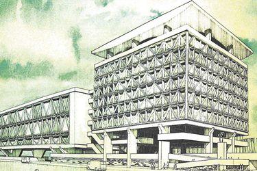 Boris Guiñerman y el edificio Correos: De proyecto de título a emblema de la modernidad