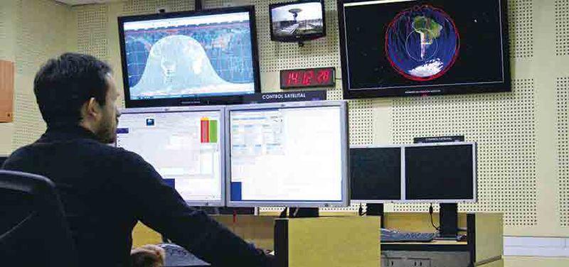 Sala de control satélite Fasat