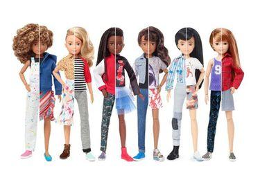 Mattel lanzó una línea de muñecas personalizables de género inclusivo