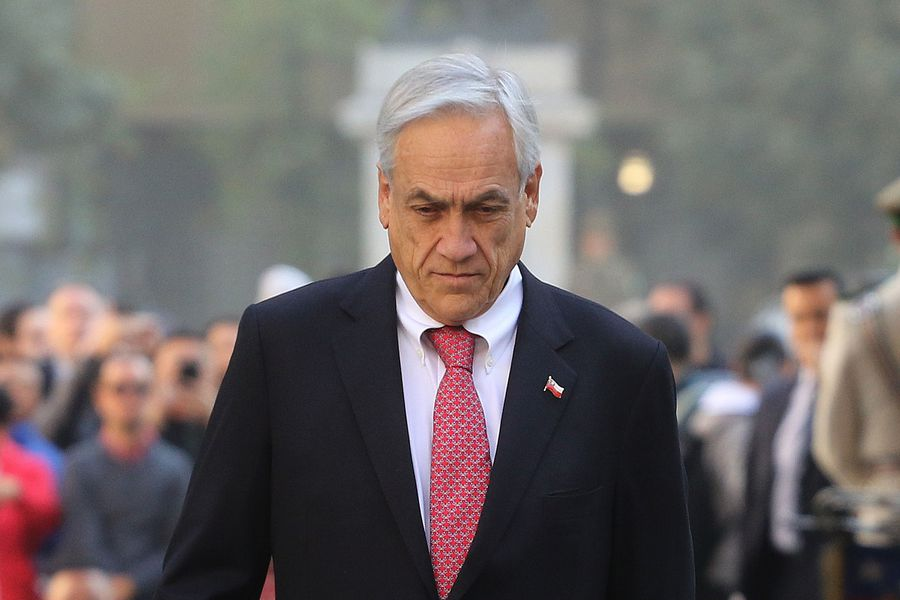 Llegada del Presidente al Palacio de la Moneda