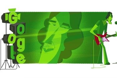 Cómo se hizo el doodle que celebra los 70 años del Flaco Spinetta