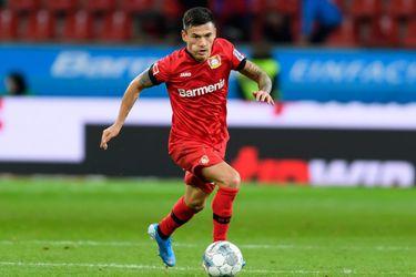Charles Aránguiz fue clave en la victoria del Bayer Leverkusen