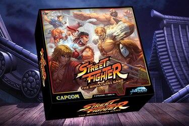 El lujoso juego de mesa inspirado en Street Fighter