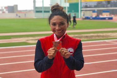 Dos platas y un bronce suma Chile en el Sudamericano de Atletismo