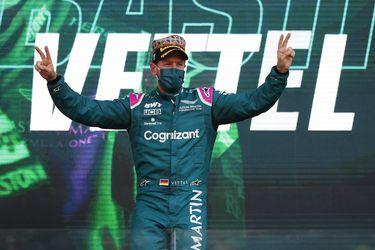Vettel se sincera y reconoce que varios pilotos orinan en el auto de Fórmula 1