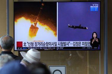 """Corea del Norte ensaya lanzamiento de """"misil de crucero de larga distancia"""""""