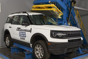 Es 'Top Safety Pick+': El Ford Bronco Sport se luce en los testeos de seguridad de la IIHS