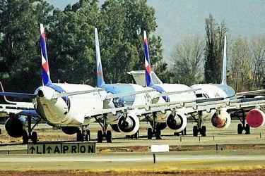Latam amplía petición a la justicia de EE.UU. para anular arriendos de aviones