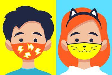 Cómo hacer que los niños usen mascarilla