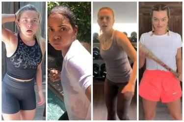 Zoë Bell reclutó a un montón de famosas para lucir sus habilidades de combate en un video desde la cuarentena