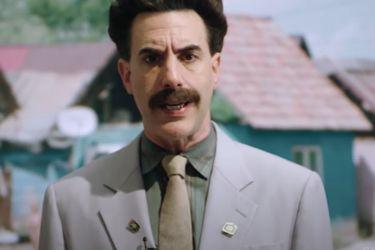 Un tráiler anunció que Borat 2 tendrá un especial con material nuevo