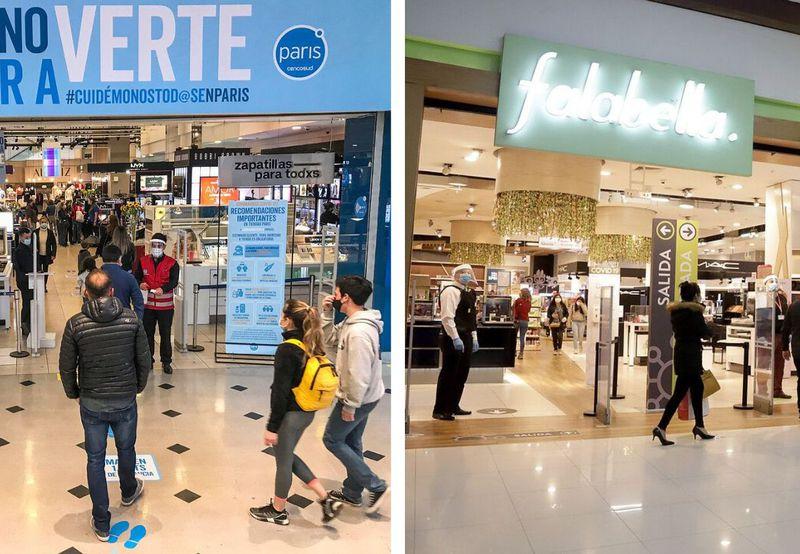 Sernac presenta demandas colectivas contra Falabella y Paris por problemas en sus compras online durante la pandemia