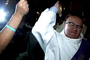 La violenta reacción de diácono con una mujer en la Catedral Metropolitana