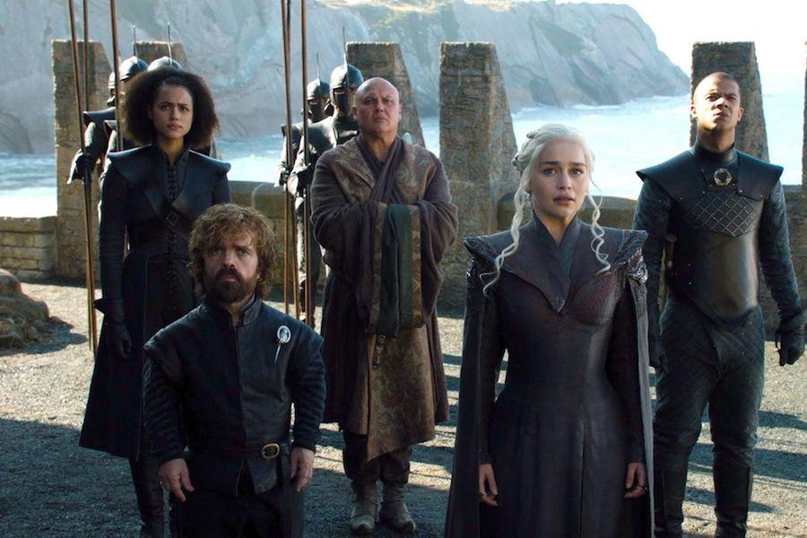 Missandei-Tyrion-Varys-Daenerys-and-Grey-Worm-in-GOT-7x01