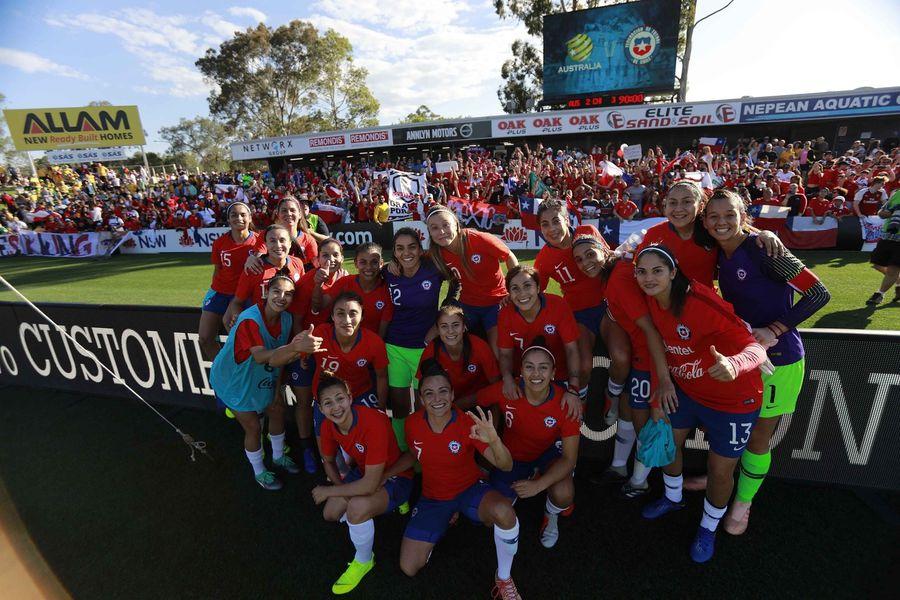Chile, Selección,