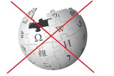 La cuenta de Wikipedia de su co-fundador fue bloqueada globalmente