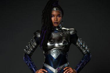 Titans presentó el primer vistazo a Blackfire en la tercera temporada