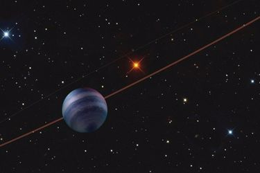 Este es el planeta fuera del Sistema Solar más cercano a la Tierra jamás fotografiado por los astrónomos