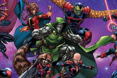 Doctor Doom será parte de la nueva formación de los Guardianes de la Galaxia en los cómics