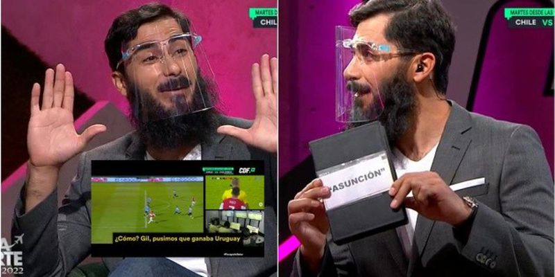 Johnny Herrera participó en televisión durante las fechas eliminatorias rumbo a Qatar 2022.