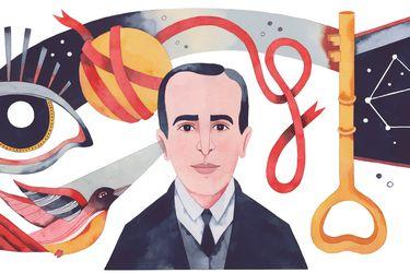 """""""Que el verso sea como una llave"""": Vicente Huidobro y el homenaje de Google"""