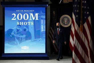 EE.UU. supera los 200 millones de vacunados contra el Covid-19