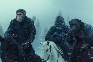 Así se crearon a los simios de War for the Planet of The Apes