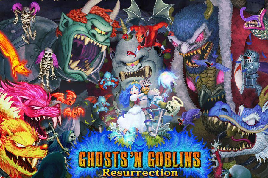 Ghosts 'n Goblins Resurrection presenta un nuevo adelanto - La Tercera