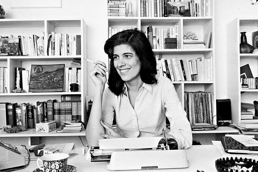 Susan Sontag (1933-2004), American writer.