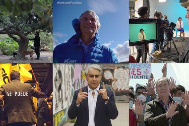 Las imágenes e ideas fuerza que marcarán el debut de la franja televisiva para la primera vuelta