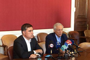 """Timoneles del PPD y RN rechazaron las """"campañas del terror"""" en reunión sobre el proceso constituyente"""