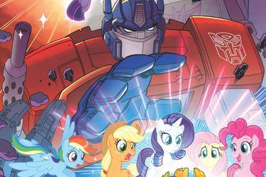 Un nuevo cómic reunirá los mundos de Transformers y My Little Pony