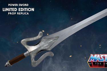 Vean esta réplica de edición limitada de la Espada de Poder de He-Man