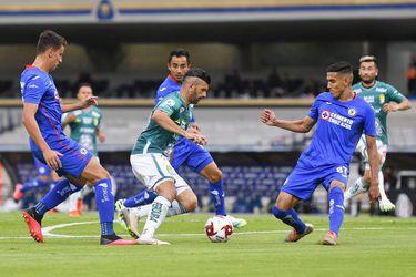 Cruz Azul se impone a León en la Liga MX