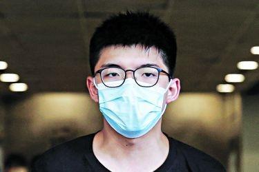"""Joshua Wong, líder de las protestas en Hong Kong: """"Me preocupa mi seguridad, pero seguiré luchando"""""""