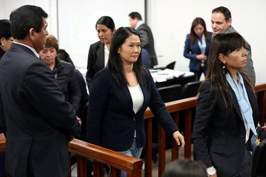 Keiko Fujimori es excarcelada y podrá continuar medida cautelar en su casa