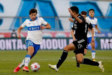 Gonzalo Tapia sufrió su tercera lesión muscular de la temporada ante Colo Colo, en San Carlos de Apoquindo. El delantero de Universidad Católica apenas ha jugado 287 minutos con Gustavo Poyet en la banca.