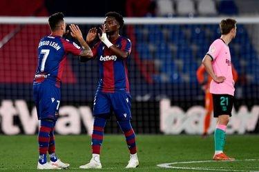 Se aleja de la corona: el Barcelona iguala frente al Levante y da un paso atrás en la lucha por La Liga