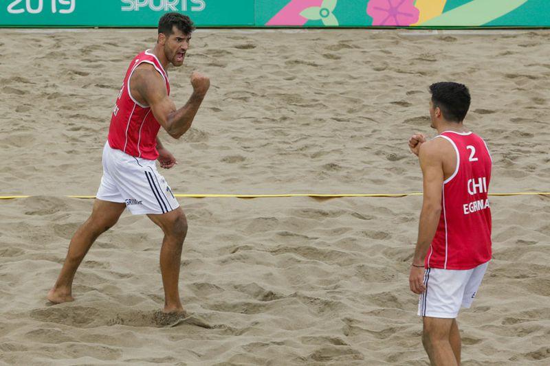 Marco Grimalt, Esteban Grimalt, Grimalt, Vóleibol playa