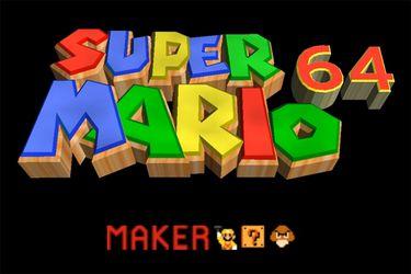 El mod que permite crear tus propios niveles de Super Mario 64