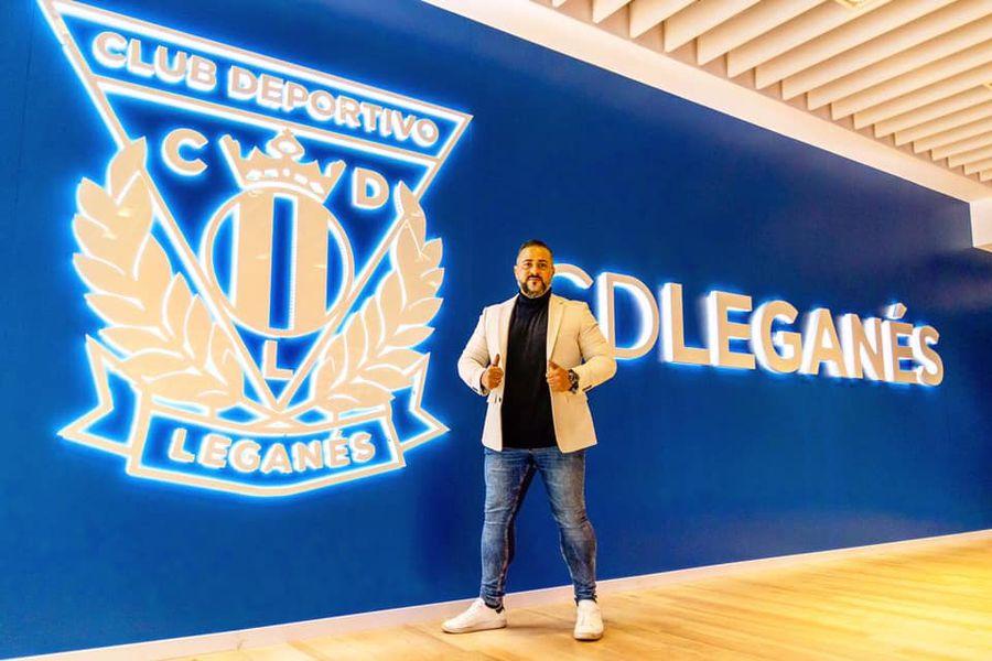 José González, director del área internacional del Club Deportivo Leganés. El club del sur de Madrid comenzará un proceso de selección de jugadores en Chile.