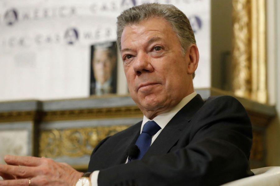 Expresidente de Colombia Juan Manuel Santos.