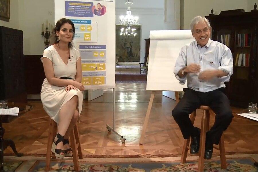 Piñera y Zaldivar por pensiones