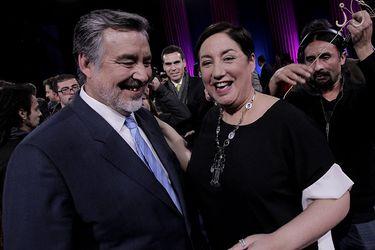 Guillier y Sánchez