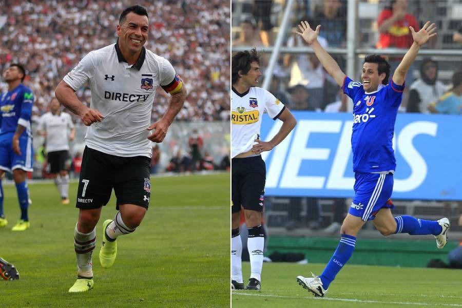 Paredes y Rivarola, dos jugadores clasiqueros.