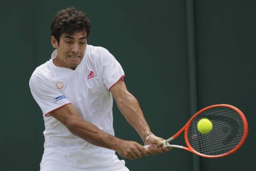 Christian Garin accedió a los octavos de final de Wimbledon.
