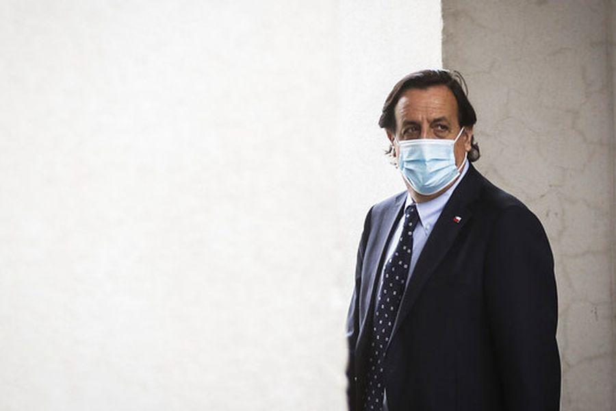 Abogados del ministro del Interior, Víctor Pérez, ingresaron un escrito a la Cámara de Diputados para responder la acusación constitucional en su contra.